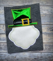 St Patrick's Day Monogram Frame Top Hat - 3 Sizes