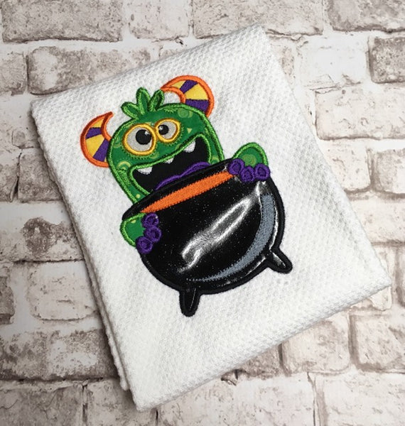 Halloween Monster Applique - 6 Sizes