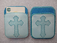 Credit Card Holder Cross - 2 Finishes