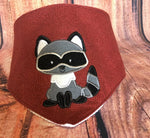 Exclusive Woodland Raccoon Applique - 3 Sizes