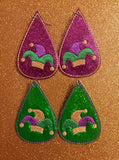 Teardrop Earring Jester Hat - 2 Sizes