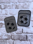 Credit Card Holder Soccer - 2 Finishes