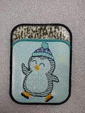 Credit Card Holder Amy Penguin - 2 Finishes