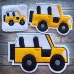Safari Jeep Finger Puppet Holder - 3 Sizes