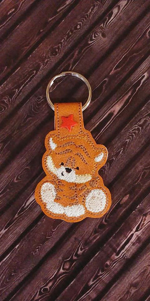 Tiger Key Fob - 2 Styles