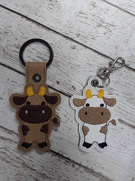Cow Key Fob - 2 Styles