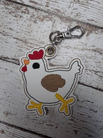 Chicken Key Fob - 2 Styles