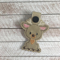 Woodland Deer Key Fob - 2 Styles