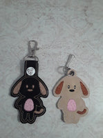 Puppy Key Fob - 2 Styles