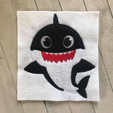 Daddy Shark Applique - ONLY - 3 Sizes
