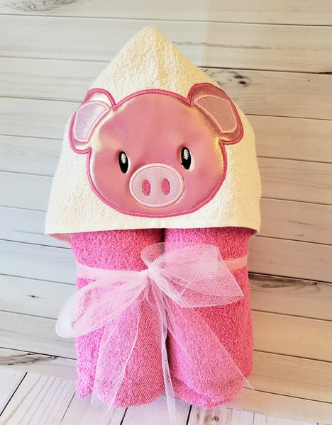 Pig Face Applique - 3 Sizes