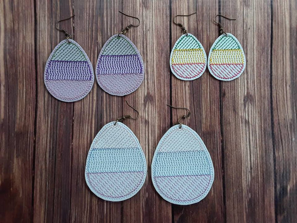 Easter Egg Earring - 3 Sizes