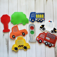 Automobile Finger Puppet Set - 8 Designs