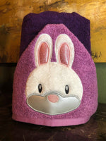 Rabbit Face Applique - 3 Sizes