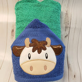 Cow Face Applique - 3 Sizes