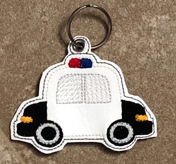 Police Car Key Fob - 2 Styles