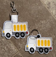 Delivery Truck Key Fob - 2 Styles