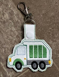 Garbage Truck Key Fob - 2 Styles