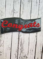 Grad Photo Booth Prop Set 5X7 ONLY