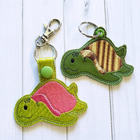 Sea Creature Sea Turtle Fob - 2 Styles
