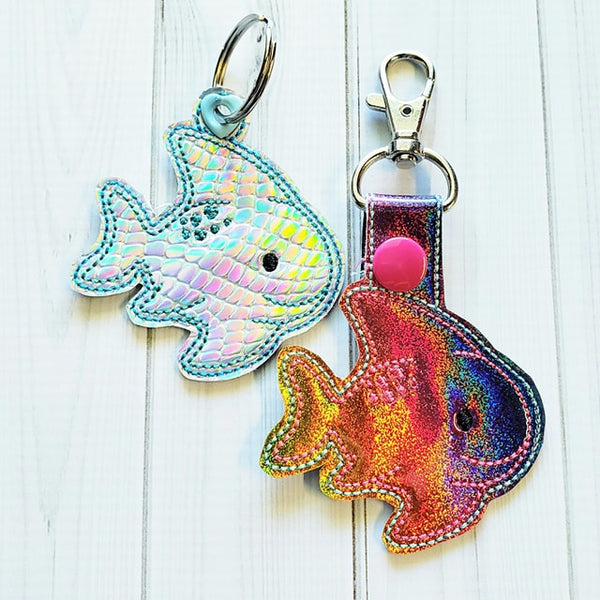 Sea Creature Fish Fob - 2 Styles