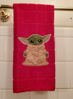 Green Baby Master Snuggling Blanket + Applique