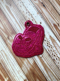 Ruby Red Slipper Key Fob - 2 Styles