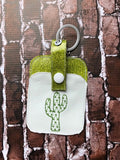Credit Card Holder Fob - Cactus