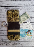 Credit Card Holder Fob with Flap - 5x7 ONLY