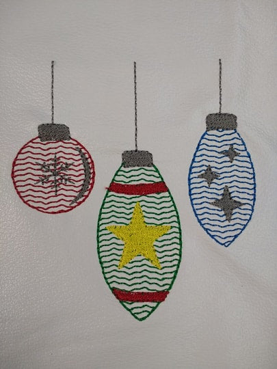 Ornament Trio Sketch - 5 Sizes
