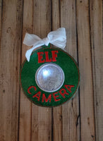 Elf Camera Ornament