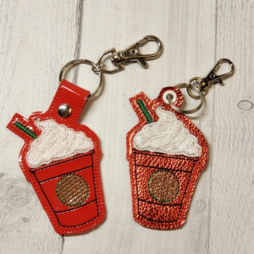 Cold Coffee/Hot Coffee Key Fob