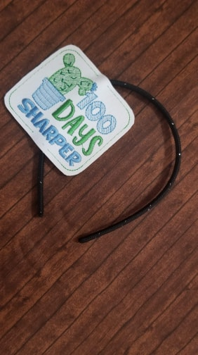 100 Days Sharper Headband Slider