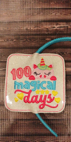 100 Magical Days Headband Slider
