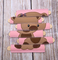 Bear Girl Stick Puzzle