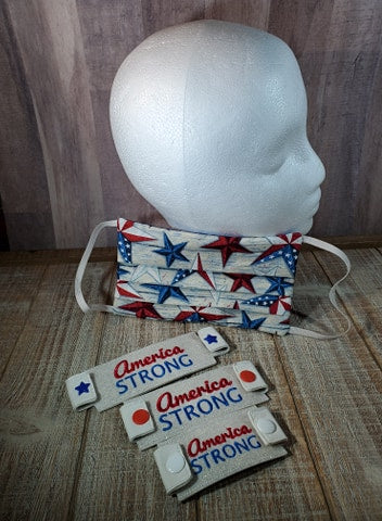 America Strong Mask Attachment