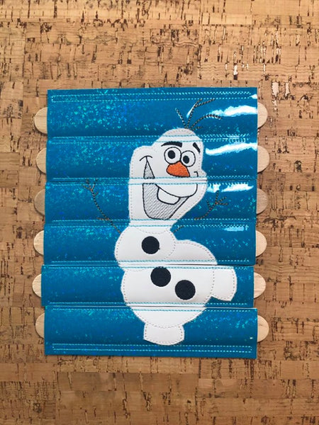 Silly Snowman Stick Puzzle