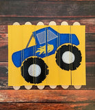 Monster Truck Stick Puzzle
