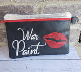 War Paint Zip Bag and Zipper Pull