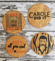 Cool Cats and Kittens Coaster Set of 4