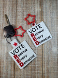 Vote Red Key Fob