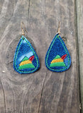 Teardrop Earring - Elf Hat