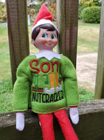 Elf Sweater - Son of a Nutcracker