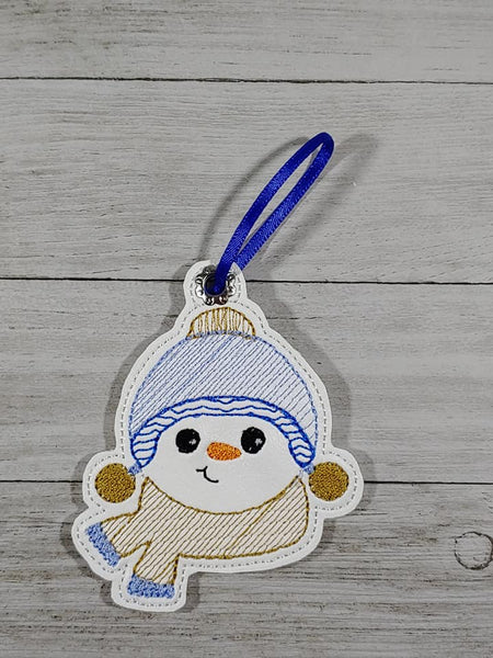 Exclusive Snowman Boy Ornament