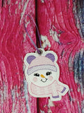 Exclusive Snowman Girl Ornament