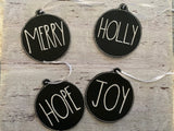 RD Inspired Ornament set of 7