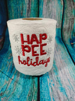 Toilet Paper - HapPEE Holidays