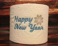 Happy New Year Toilet Paper