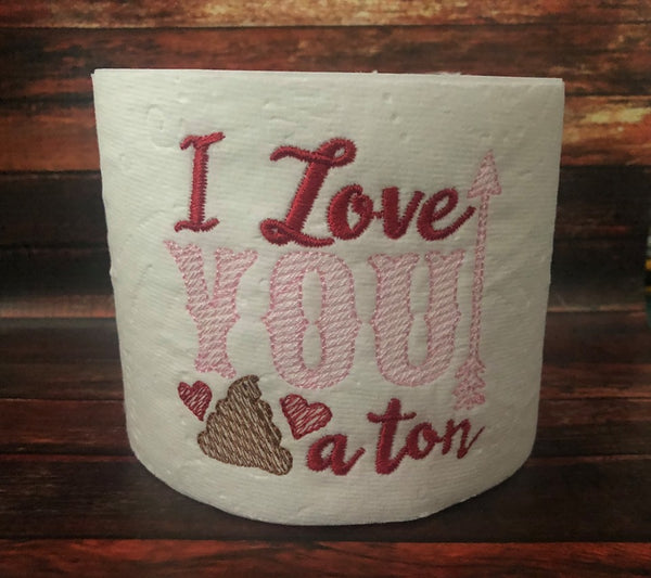 I love you a ton TP