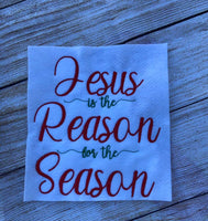 Jesus is the reason wording